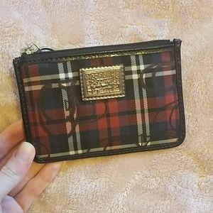 Coach card pouch